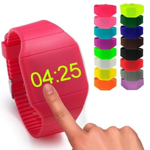 relojes touch led digital sport unisex dama caballero maa