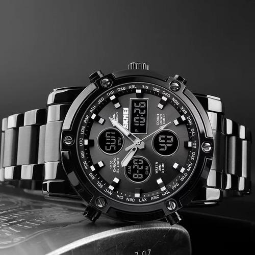 relojes waterproof deluxe para caballero
