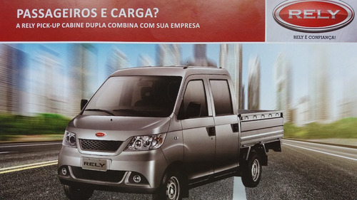 rely pick up okm cabine dupla r$ 39.999,00