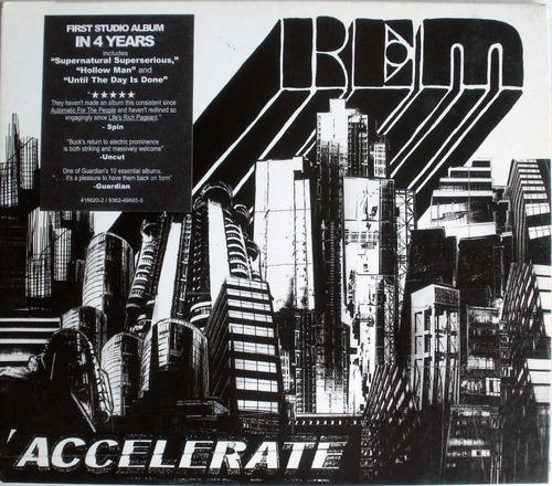 rem - accelerate - cdpromo nacional - sobre carton