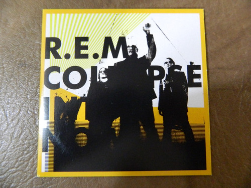r.e.m - collapse into now cd