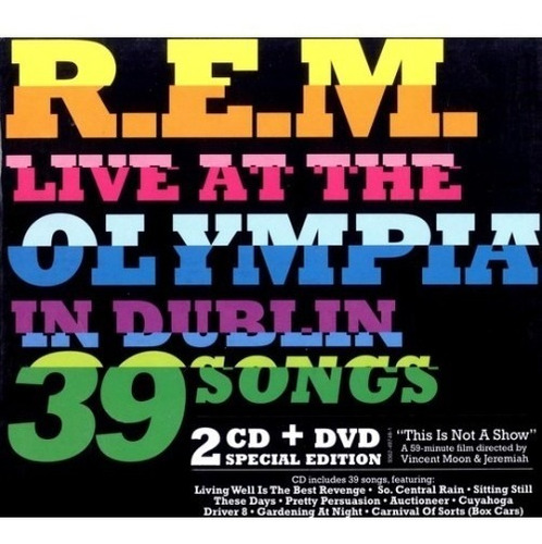 r.e.m. - live at the olimpia special edition  2 cds + dvd!!!