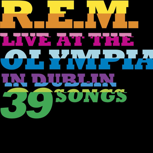 r.e.m. live at the olympia deluxe edition cd x 2 + dvd nuevo