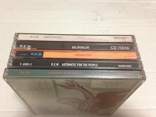 r.e.m. rock alternativo jangle pop lote cd's importados
