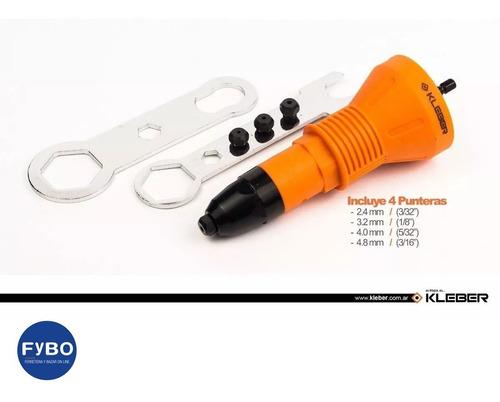 remachadora pop  kleber automatic para taladro  atornillador