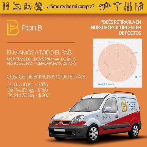 remachadora pop manual tijera 17'' - plan b