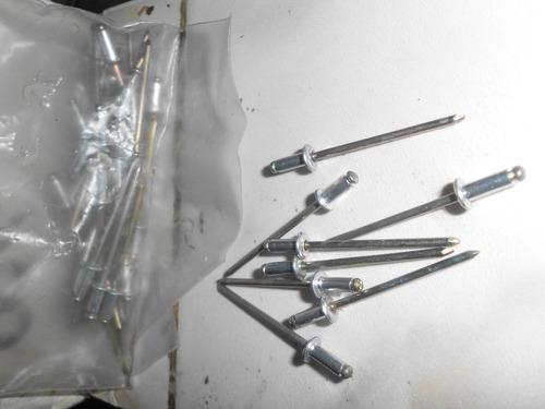remaches 1/8 8mm 45 unidades nuevas cantidad unica