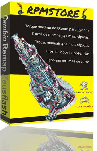 remap reprogramação cambio peugeot 308 408 3008 thp