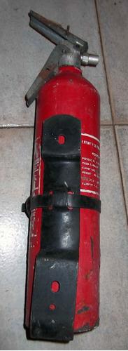 remate 2x1 extintores con base para carro, oficina o casa