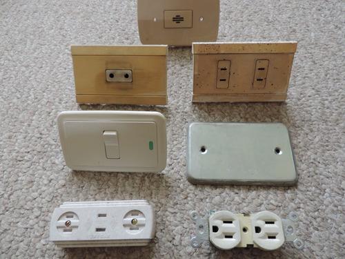 remate 7 tomas usadas baratas eléctrica teléfono enchufe