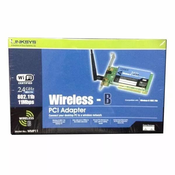 WIRELESS B PCI ADAPTER WMP11 DRIVERS FOR WINDOWS XP