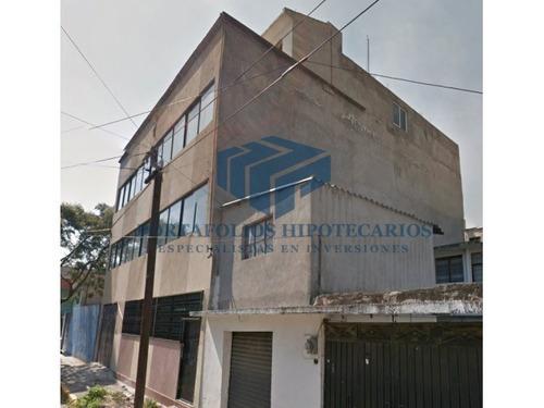 remate bancario! adjudicado edificio en iztapalapa