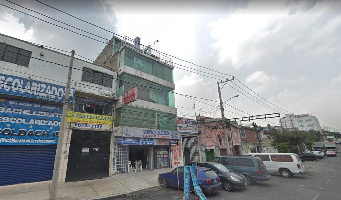 remate bancario casa con locales en coyoacan , cdmx.