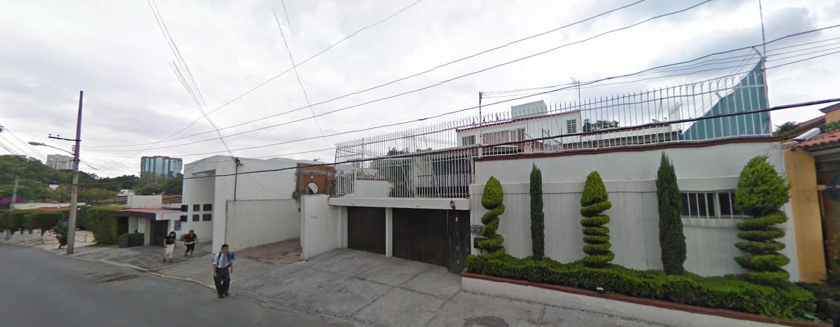 remate bancario casa lujosa en jardines del pedregal , cdmx.