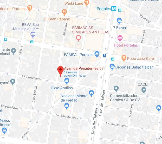 remate bancario depto presidentes 67 benito juarez portales