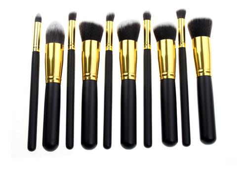 remate brochas para maquillaje 10 piezas kabuki