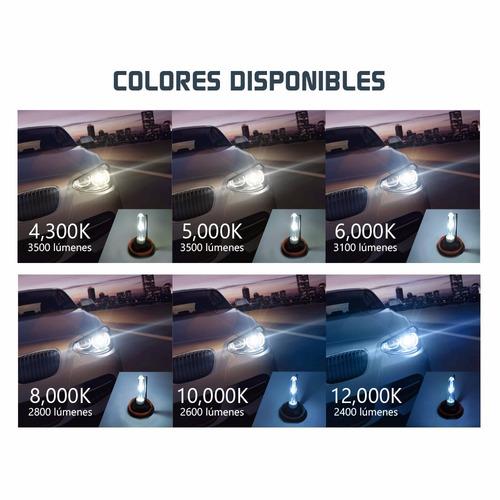 remate!! bulbos hid de xenon 35w 12v autos luces bajas faro