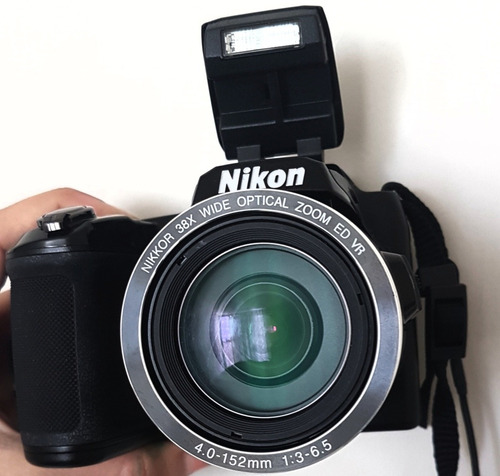 remate camara fotografica digital profesional nikon coolpix