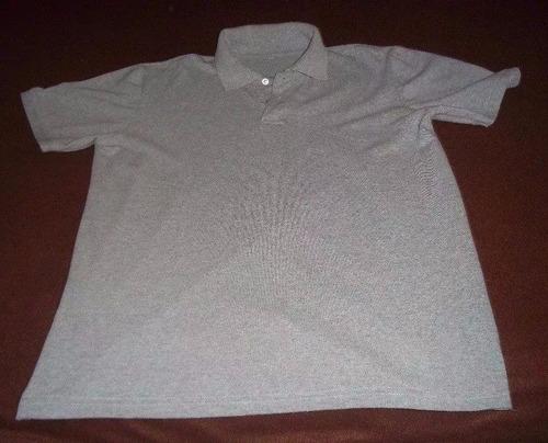 remate camisa deportiva a solo s/10 talla m , color gris