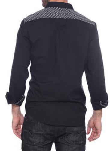 remate camisa guess fashion slim fit fiesta shirt talla l