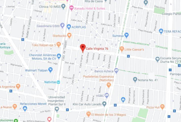 remate casa colonia nativitas benito juarez $1,085,000