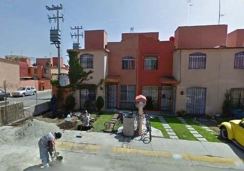 remate - casa en condominio residencial en venta en fraccionamiento ex-hacienda san miguel, cuautitlán izcalli, estado de méxico - aut1301