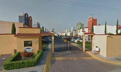 remate - casa en condominio residencial en venta en fraccionamiento ex-hacienda san miguel, cuautitlán izcalli, estado de méxico - aut908