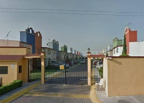 remate - casa en condominio residencial en venta en fraccionamiento ex-hacienda san miguel, cuautitlán izcalli, estado de méxico - aut909