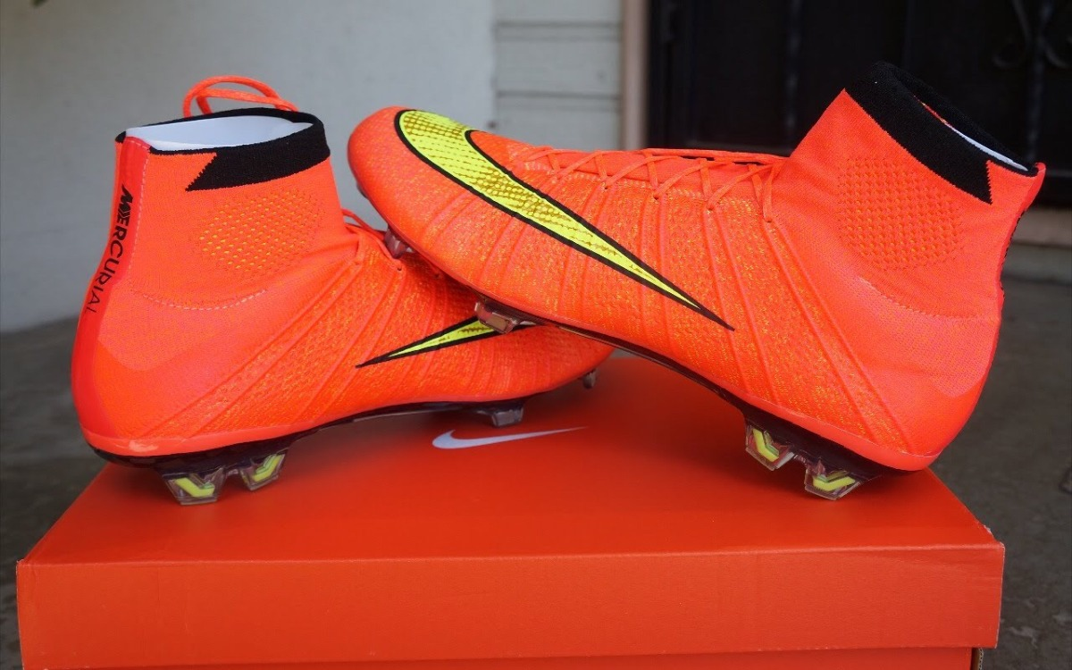 Remate Chimpunes Nike Mercurial Superfly Coral Talla 40 Eur - S/ 340 ...