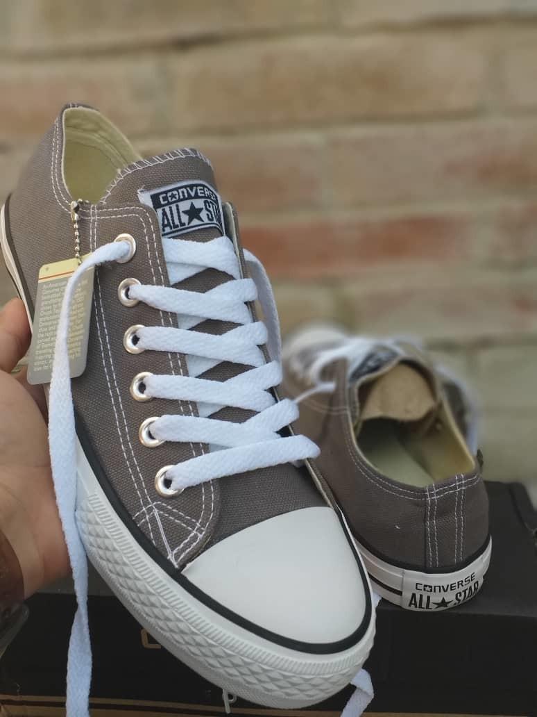 converse gris 40
