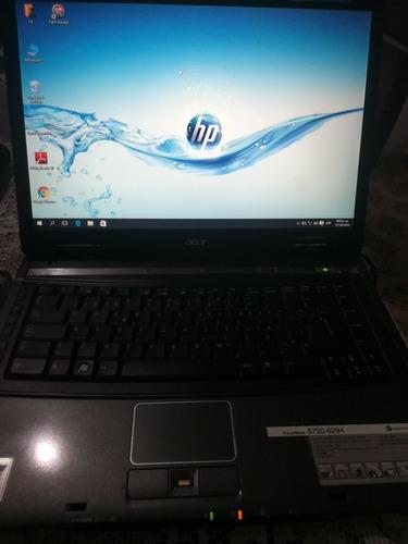 remate de laptop acer core2duo