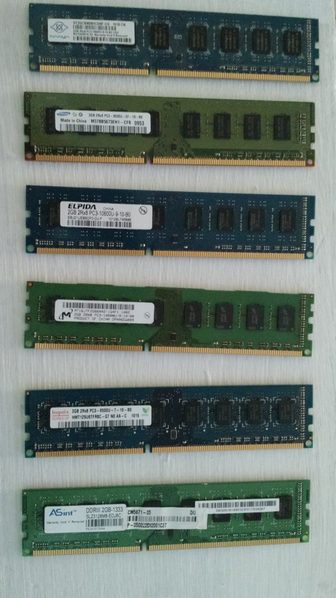 Remate De Memoria Ram Ddr3 2 Gb Para Pc 10600u 22900 En 2gb 8500u Cargando Zoom