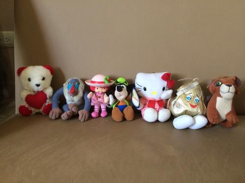remate de muñecos varios