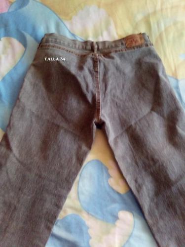 remate de pantalones talla grande de jean stress bacci y mas