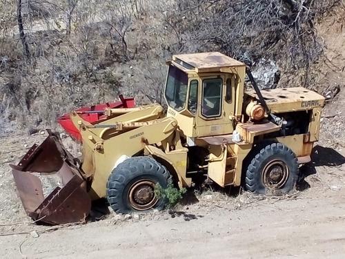 remate de partes de maquinaría para construcción (trascabo)