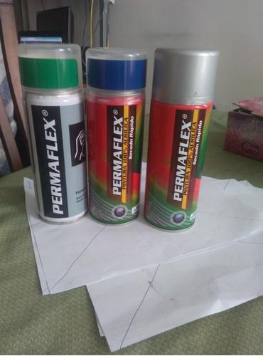 remate de pintura acrilica en espray en varios colores
