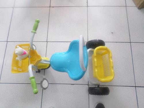 remate  de triciclo infantil clasico niños y niñas