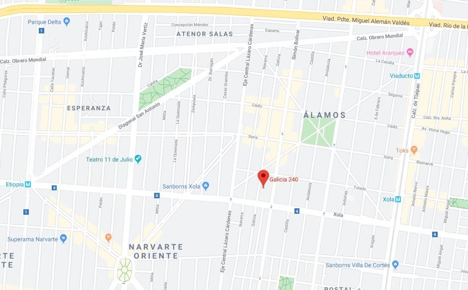 remate depto col alamos benito juarez $1,640,000