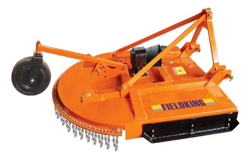 remate! desvaradora de 1.5m de corte fieldking mod. fkrc-60