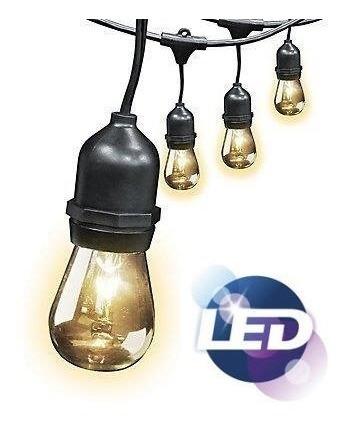 remate! envio gratis! luces en serie led estilo vintage