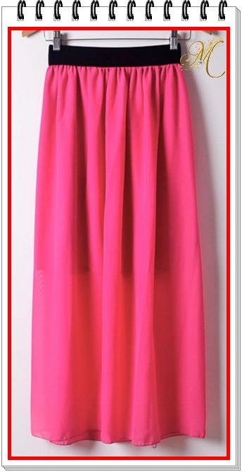 725f8bcfe Remate Hermosas Faldas Largas Juveniles De Moda Para Mujer