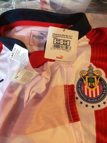 remate jersey chivas de guadalajara puma 100%original 2017