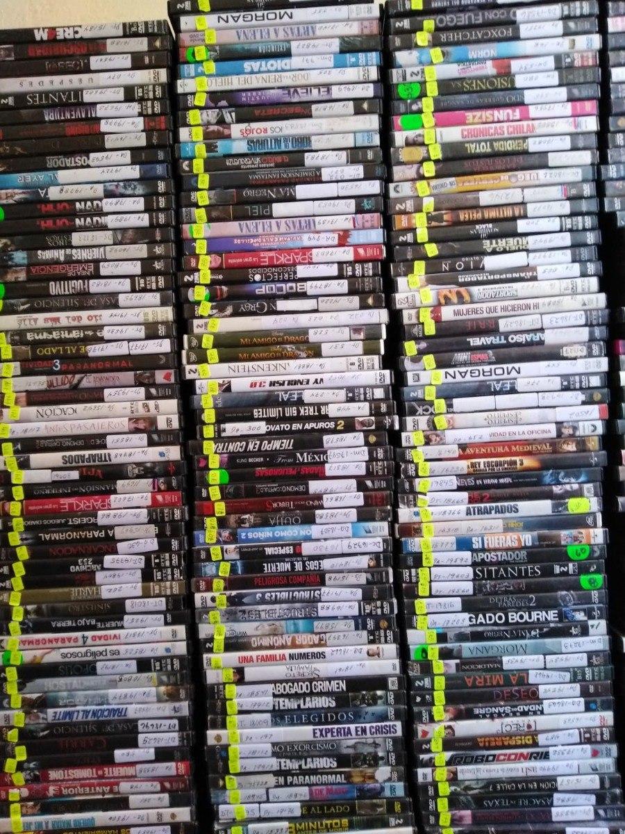 Remate Lote De 50 Películas Dvd Originales Envio Gratis - $ 590 00