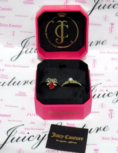 remate mca.juicy couture set anillos para dama  # 8