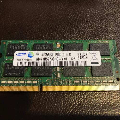 remate memoria ram 4 gb notebook pc3l ddr3l / pc3l ddr3