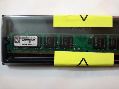 remate memoria ram kingston ddr2 2gb 800mhz - en blister
