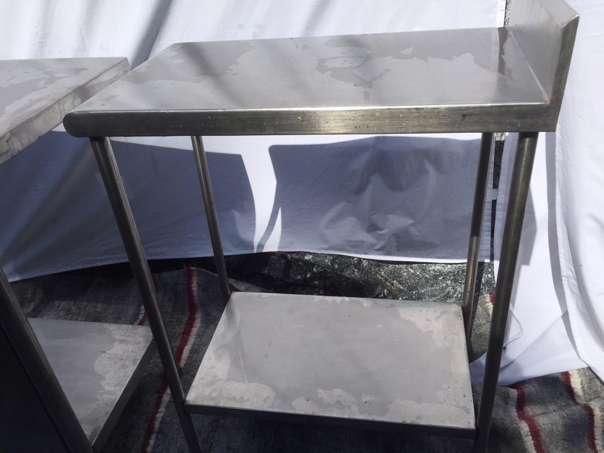 Remate Muebles De Cocina Industrial En Acero Inoxidable - $ 5.000 ...
