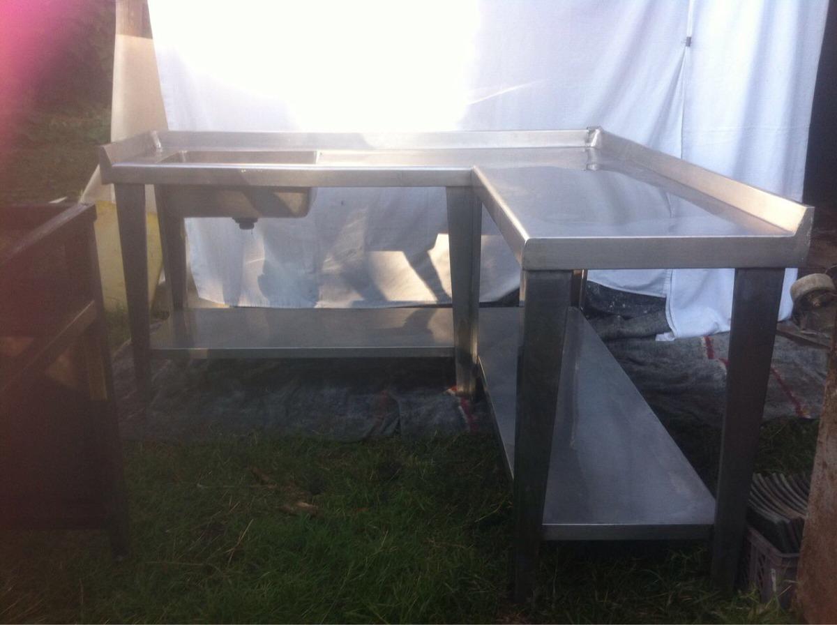 Remate muebles de cocina industrial en acero inoxidable - Remates de muebles de cocina ...
