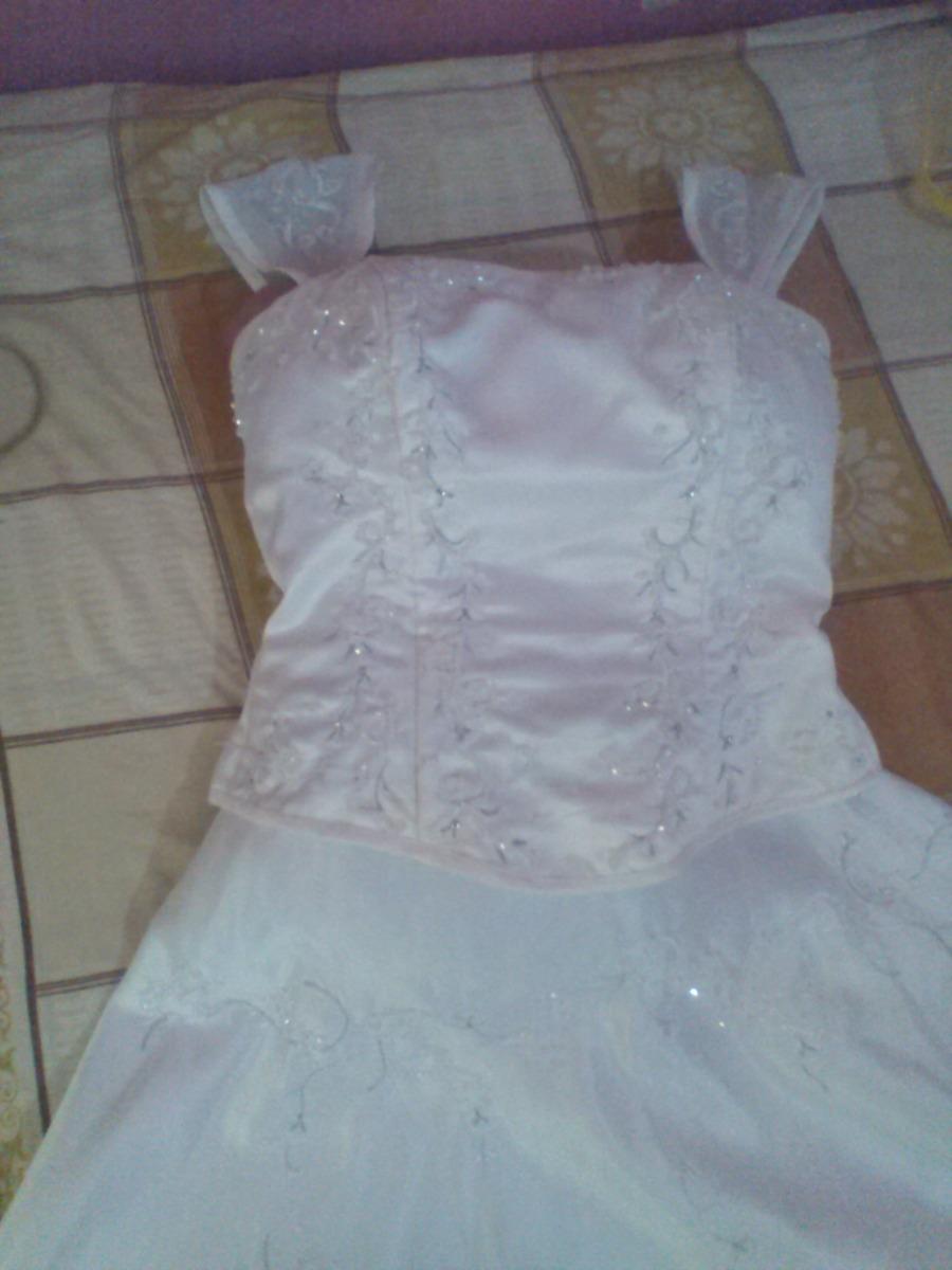 Remate Oferta Vestido De Novia Talla S - Bs. 30.000,00 en Mercado Libre