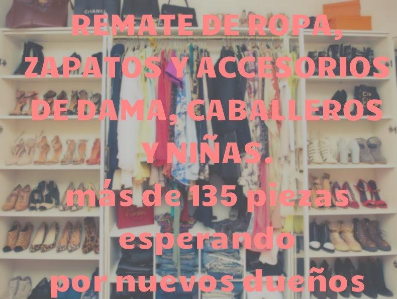 f06f28606 remate ropa accesorios zapatos dama niña caballero usada · ropa accesorios  zapatos. Cargando zoom.